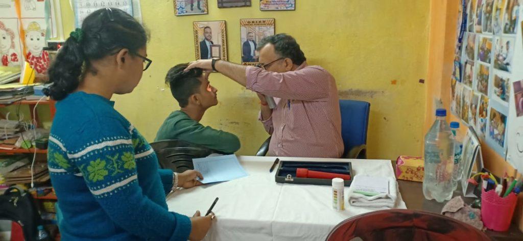 screening camp for eye surgery